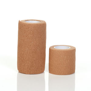 Quality Medical Mesh Elastic Bandage Adhesive Tape pictures & photos