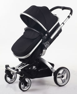 2017 New Design Luxury Fold Baby Stroller With Car Seat pictures & photos