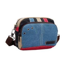 Contrast Color Casual Mini Crossbody Bag