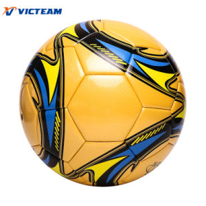 Official Size Weight Match Laminated Soccer Ball pictures & photos