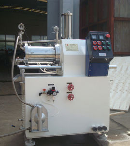 Lab Horiztonal Large Flow Supperfine Beads Mill for Ink, Paint, Pigment, Pesticide pictures & photos