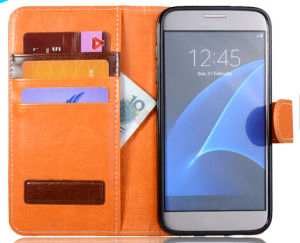 Wallet Card Slot Stand Case for Samsung Galaxy S7 S8 pictures & photos