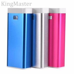 4400mAh Metal Outdoor Emergency Power Bank for Mobile with Cable pictures & photos
