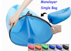 Inflatable Sleeping Air Bag Bed Air Chair Bed Laybag Air Inflatable (C229) pictures & photos
