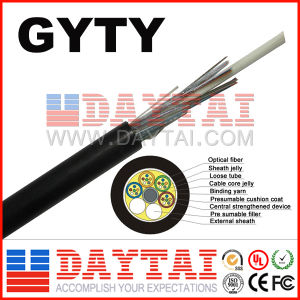 Outdoor Gyty Single Mode Multi-Mode 2~144 Core Fiber Optical Cable pictures & photos
