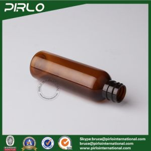 50ml 1.7oz Tubular Round Amber Plastic Shampoo Spray Bottle with with White Pump pictures & photos