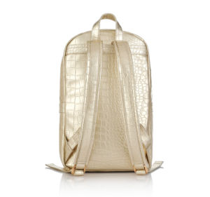 Shining PU Stylish Crocodile Grain Backpack (MBNO041095) pictures & photos