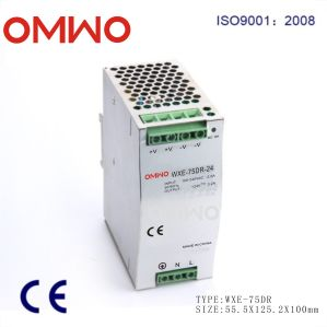 Wxe-75dr-24 Original MW 24V 75W DIN Rail Power Supply pictures & photos