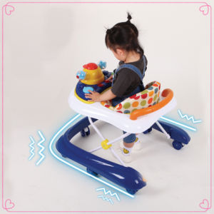 2017 Foldable Baby Walker with Toys pictures & photos