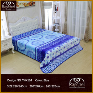 Textile Product of 100% Polyester Blanket