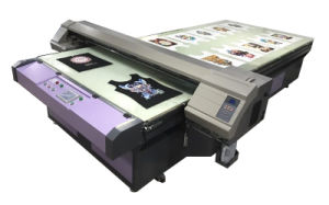 Long Flatbed Printing Machine for Pigment Ink pictures & photos
