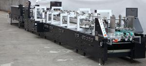 GS Series High Speed 4/6 Corner Box Folder Gluer Machine (GK-650GS) pictures & photos