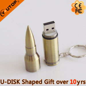 Promotional Gifts Metal Bullet Flash Drive USB Stick (YT-1224) pictures & photos