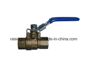 Bronze Ball Valve with Lockable Handle pictures & photos