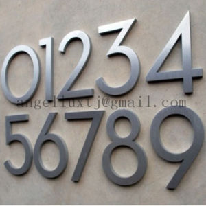 Stainless Steel 3D Letter Brush Decorative Metal Letters pictures & photos