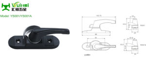 Zinc Alloy Crescent Lock for Aluminum Sliding Window with ISO9001 (YS001/YS001A) pictures & photos