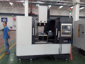 Hobby CNC Metal Horizontal Machining Center (VMC850) pictures & photos