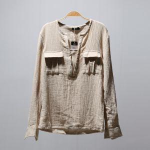 55%Linen 45%Cotton Fabric, Crepe Cotton Linen Fabric pictures & photos