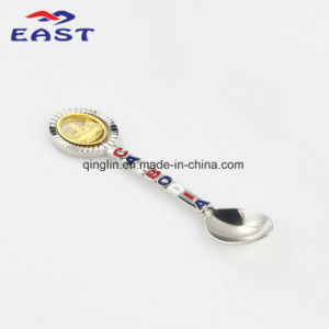Creative Design Customized Cambodia Logo Soup Spoon pictures & photos