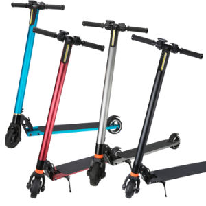 Colorful Aluminum Alloy Light Electric Bike 2 Wheel Electric Bicycle Folding Kick Scooter pictures & photos