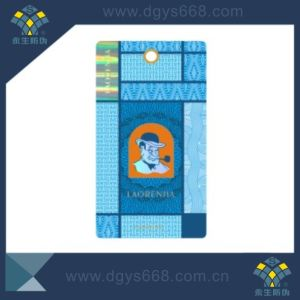 Custom High Quality Hot Stamping Security Hang Tags pictures & photos
