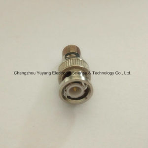 BNC Male to RF Female Connector Adapter pictures & photos