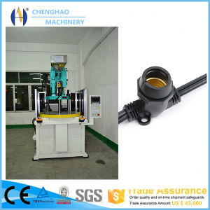 Chenghao Brand Vertical Plastic Injection Molding Machine for Making String Light Cord pictures & photos