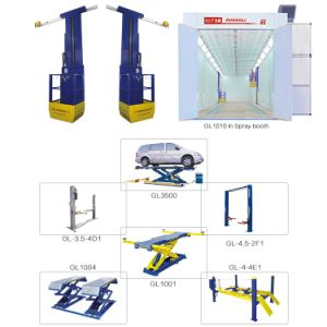 Guangli Brand Double Cylinder Hydraulic Lift Type 2 Post Design Car Lift pictures & photos