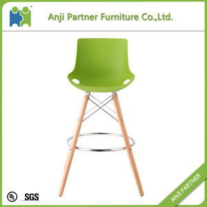 French Style Natural PP Plastic Seat Bar Stool (Sanvu) pictures & photos
