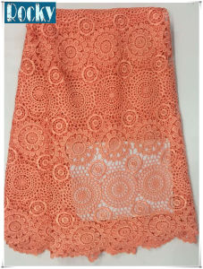Garment Accessories Nigerian Fabric Polyester Lace Fabric pictures & photos