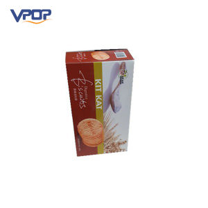 4c Printing Retail Cardboard Paper Biscuit Cookie Packaging Box pictures & photos