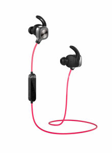 Bluetooth Headphones Wireless Headset Noise Cancelling Sweatproof Earbuds with Mic-Black pictures & photos