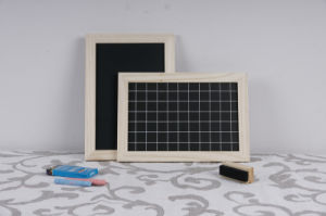 Wooden Frame PVC Black Board with Grid pictures & photos
