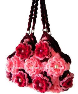 OEM Ladies New Design Hand Crochet Bag Handmade Knitted Handbags pictures & photos
