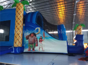 Used Commercial Crazy Moana Bouncer Slide, Inflatable Moana Castle, Vaiana Castle pictures & photos