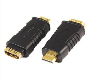 HDMI Adapter for Mini HDMI Male -HDMI Female pictures & photos