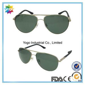 Fashion Newest Block UV Light Pilot Sunglasses with Metal Hinge