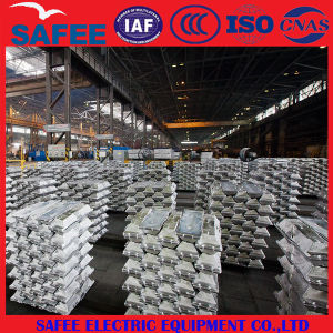 China A7 Aluminium Ingot, Al Ingot 99.7% for Construction pictures & photos