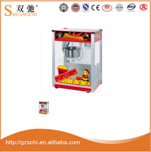 Common Popcorn Machine Stainless Steel Snack Machine From Guangzhou pictures & photos