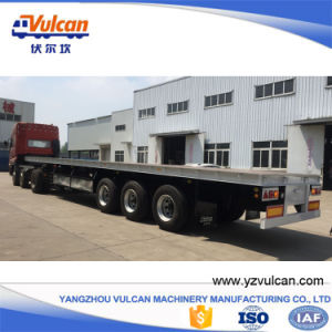 Utility 3 Axle Flatbed Container Transport Semi Trailer