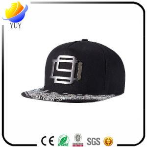 Korean Iron Logo Street Fashion Hip-Hop Flat Brimmed Hat pictures & photos