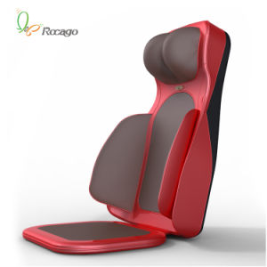 Hot Sell Heating Vibration Massage Cushion for Neck Back Button Leg pictures & photos