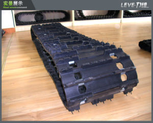 Snow Field Professional Rubber Track From Leve pictures & photos