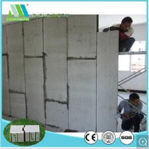 Lightweight and Fast Construction EPS Sandwich Precast Foam Cement Wall pictures & photos