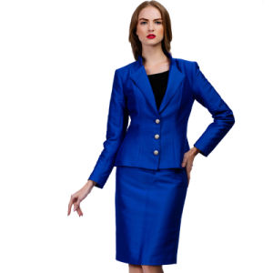 Factory Price Unique Style Latest Woman′s Business Suit pictures & photos
