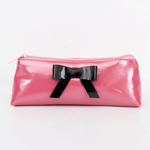 PU Leather Cosmetic Makeup Bag for Women pictures & photos