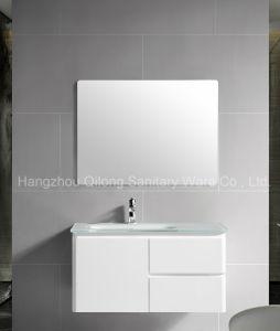 Qilong White Painting PVC Cabinet pictures & photos