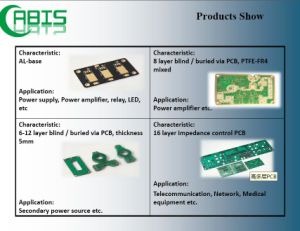 Multilayer PCB Printed Circuits Board (electronic and component) pictures & photos