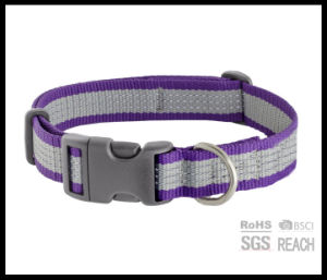 Glow in The Dark Reflective Safety Pet Dog Training Collar pictures & photos
