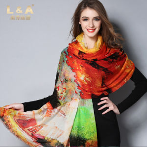 Women Wool Scarf Shawls